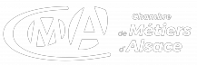 Logo CMA blanc
